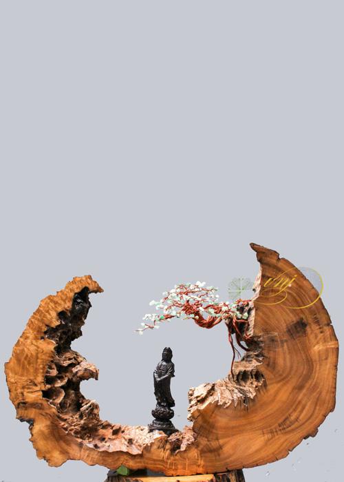 Bonsai Dây Đồng Đá Quý